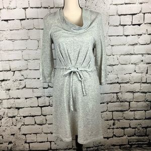 Anthropologie Saturday Sunday Gray Cotton Dress